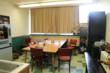 This is what the Tusky Valley High School teachers lounge looked like before the School Lounge Makeover